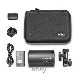 100W Godox Outdoor Pocket Photo Flash Light Strobe Camera Speedlite + Battery UK