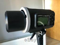 2 x Godox AD600B TTL HSS 600W 2.4G 1/8000 Outdoor Strobe Flash Light + Stands