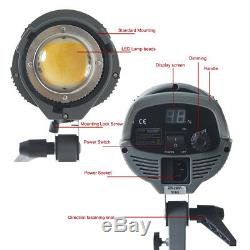 200W LED Dimming 3200K/5600K Flash Lighting Speedlite Strobe Lamp For Studio Cam