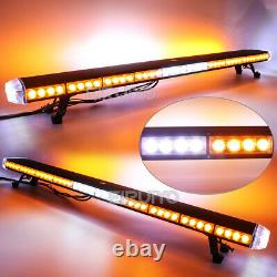 25 to 63 LED Recovery Strobes Light bar 12/24v Flashing Beacon Car Truck Light