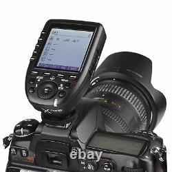 2Godox SK300II 300W 2.4G Flash Strobe+Xpro-N For Nikon+ Softbox Light Stand Kit