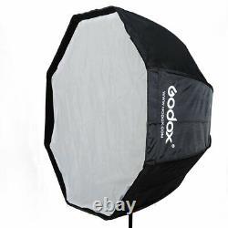 2Pcs Godox DE300II 300W Studio Flash Strobe Lighting Softbox Trigger Stand Kits
