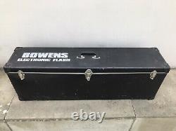 2x Bowens Mono 400D Studio Strobe Flashes + Brollies/Case/reflectors/leads