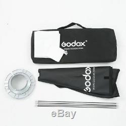 2x Godox SK300II Studio Strobe Flash Light Head +Trigger+Softbox+Light Stand Kit