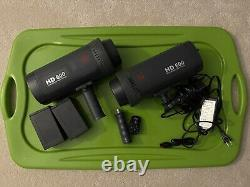 (2x) Jinbei HD600 DC Strobe Set Used Going out of business sale