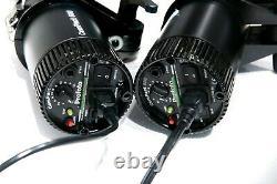 2x Profoto ComPact Plus 600 Pro Strobe heads(90-260V) in a Pelican 1600 Case