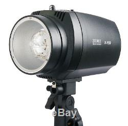 300W Photo Studio Strobe Flash Monolight Light Kit Softbox Umbrella Stand Bag