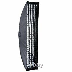 3Godox SK300II Studio Strobe Flash Light+Barn door+Grid sofbox Stand+trigger