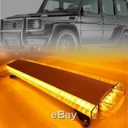 47 88 LED Light Bar Amber Strobe Beacon Recovery Hazard Emergency Flashing Lamp