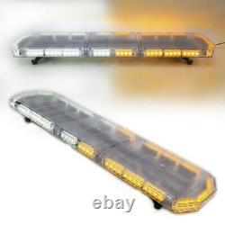 48 88 LED Emergency Warning Strobe Light Bar 12/24V Tow Truck Beacon Response