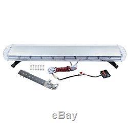 88 LED Amber Strobe Light Bar Emergency Beacon Warning Flashing Lamp Controller