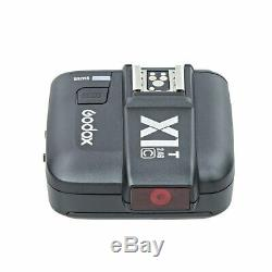 900W UK 3x Godox SK300II Studio Strobe Flash Light Head +Trigger+Softbox f Canon