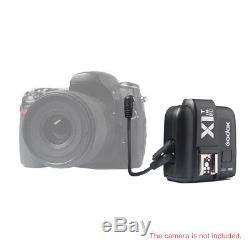 900W UK 3x Godox SK300II Studio Strobe Flash Light Head +Trigger+Softbox f Nikon