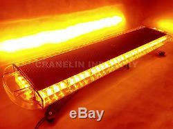 975mm 3872w Led Wor Light Bar Top Beacon Recovery Flashing Strobe Lights Yellow