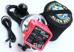 AlienBees B800 Paul Buff 320 WS Studio Strobe Flash withreflector case pink 386031