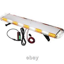 Amber 88LED Recovery Light bar 1067MM 12/24v Flashing Beacon Truck Light Strobes