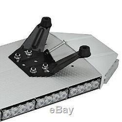 Amber LED Recovery Light bar Flashing Beacon Truck Light Strobes 1067mm 12-24V