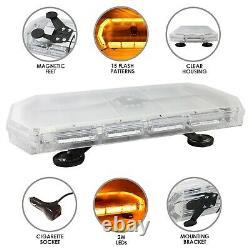 Amber Recovery Light Bar LED Flashing Beacon Lightbar Warning Strobe Van 600mm