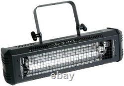 American DJ Lighting Mega Flash Dmx 800W Strobe Light With Arriba Bag Clamp Cable