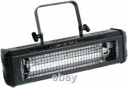 American DJ Mega Flash DMX 800W DMX Strobe Light with Sound Sensor + Fog Machine