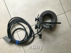 BRONCOLOR Studio Flash Strobe 3200J RINGFLASH 32.462.10-16 WITH CAMERA BRACKET