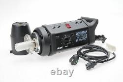Bowens/Calumet Travelite 750 WS Monolight Studio Strobe Flash 750W CE-1105 #699