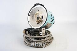 Broncolor Universal Blue Photo Studio Strobe Head w Reflector & Flash Bulb V14