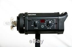 COMPLETE SET 3 x Bowens Gemini 500R Studio Strobes WITH Pulsar Trigger