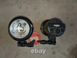 Calumet Elite Strobe Set with Three Strobes and Cables