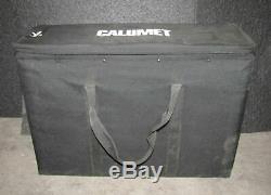 Calumet Travelite 750 Monolight Studio Strobe Lot Of 3 (#3014)