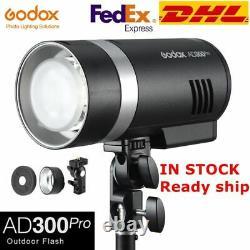 DHL Godox AD300Pro 2.4G HSS Outdoor Flash 300W TTL Flash Monolight Strobe 5600K