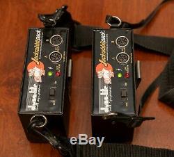 Dynalite UNI400jr Monolight Kit Jackrabbit Battery Packs Studio Flash Strobe