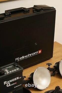Elinchrom Ranger Quadra Complete Portable Flash Strobe Kit