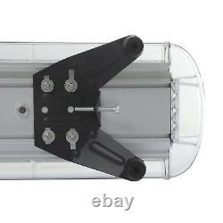 Emergency Flashing Lamp Bar Beacon 51'' 96 LED Amber Car Strobe Light Warning