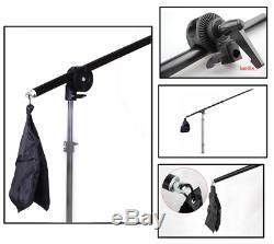 Flash Strobe 450W Softbox Umbrella Reflector Studio Lighting Shooting Table Kit