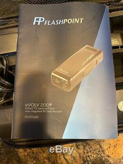 Flashpoint eVOLV 200 TTL Modular Strobe