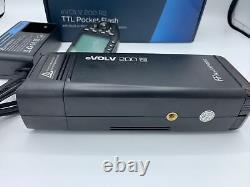 Flashpoint eVOLV 200 TTL Modular Strobe (AD200 Pocket Flash) USED