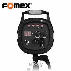 Fomex E400 Strobe Studio Flash Lamp 400w 5,500k LED Light 220V Only