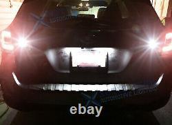 For Subaru Outback Forester Legacy WRX LED License Plate + Strobe Reverse Light