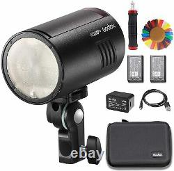 Godox AD100Pro 100Ws 2.4GHz Wireless TTL Strobe Flash Light with 1/8000s HSS+ Gift