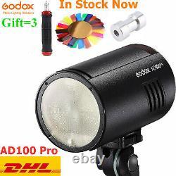 Godox AD100Pro AD100 Pro Monolight 100Ws 2.4G Flash Strobe 360 Power Flash Light
