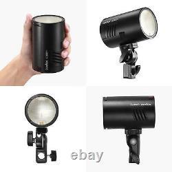 Godox AD100Pro Pocket Outdoor Photo Flash Light Strobe Camera Speedlite +Battery