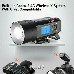 Godox AD400PRO Flash Strobe Light 400W Outdoor Photo Studio Camera Speedlite