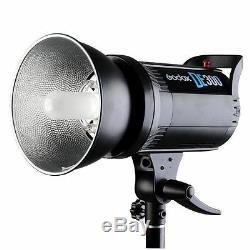 Godox DE-300 300w Studio Strobe Flash Light Monolight +FT-16 Trigger Kit 220V
