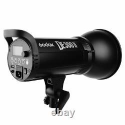 Godox DE300II 300W 2.4G Wireless Studio Flash Strobe Light Head + Xpro Trigger