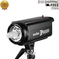 Godox DP600II GN80 Studio Strobe Flash Light Speedlite with 2.4G Godox X System