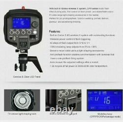 Godox DP600II GN80 Studio Strobe Flash Light Speedlite with 2.4G X System 220V
