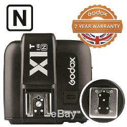 Godox Flash Strobe V1 Speedlite with X1T Wireless Transmitter for Nikon