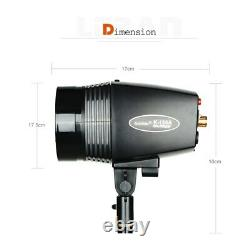 Godox K-180A 180Ws Photography Studio Flash Strobe Light + 50 x 70cm Gird