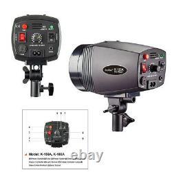 Godox Mini Master Studio Flash Strobe Light K-180A 180WS Photography + Sensor